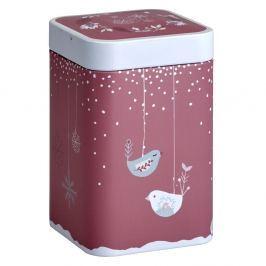 Puszka na herbatę 100g Eigenart Śnieżna przygoda czerwona