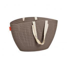 Koszyk na zakupy Emily Knit (brązowy) Curver