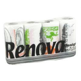 RENOVA 4szt. Design Ręcznik papierowy