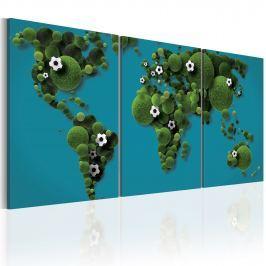 Obraz - Największe boisko świata (60x30 cm)