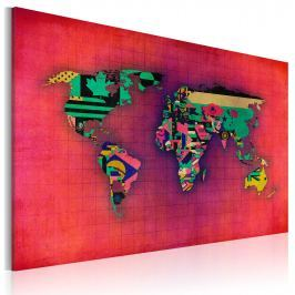 Obraz - Świat jest mój (60x40 cm)