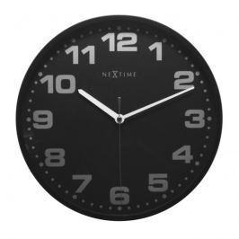 Zegar ścienny Nextime Dash Black
