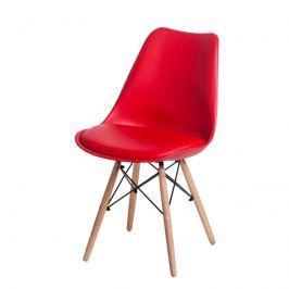 Krzesło Norden DSW PP D2 czerwone