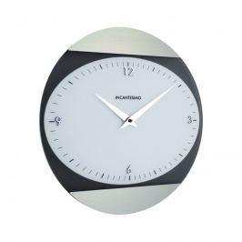 Zegar ścienny Incantesimo Design Logical biały metal