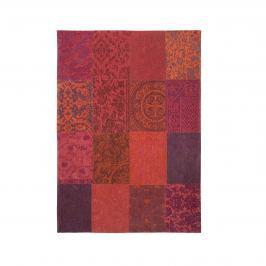 Dywan naturalny 170x240 cm Louis De Poortere Vintage Patchwork Orange Purple pomarańczowy