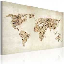 Obraz - Świat w odcieniach beżu (60x40 cm)