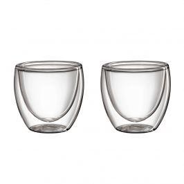 2 szklanki do espresso, szkło borokrzemowe, 80 ml