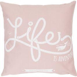 Poduszka Life 47x47 różowa