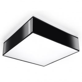 Plafon 35x35cm Sollux Lighting Horus czarny