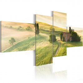 Obraz - Spokój Toskanii (100x45 cm)