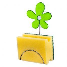 Uchwyt na gąbkę Koziol A-pril zielony