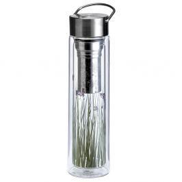 Butelka szklana 350 ml na herbatę z pokrowcem Eigenart Łąka