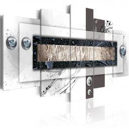 Obraz - Balans bieli (100x50 cm)