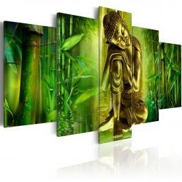 Obraz - Młody Budda (100x50 cm)