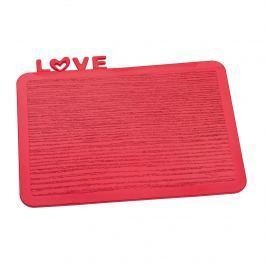 Deska śniadaniowa Koziol Happy Boards Love malinowa
