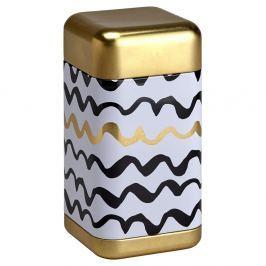 Puszka na herbatę 200g Eigenart Złoto szlaczki