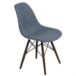 Krzesło P016W Duo D2 niebiesko-szare/dark