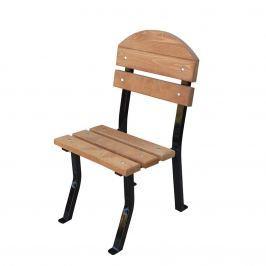 Krzesło ogrodowe Nelia De Lux Fiemar 48cm brązowe
