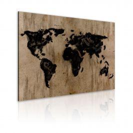 Obraz - Rozmyte lądy (60x40 cm)