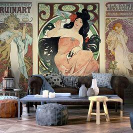 Fototapeta - Alphonse Mucha. Kobiety (300x210 cm)