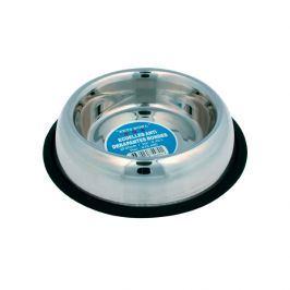 Miska dla psa na gumie Zolux Inox 26 cm