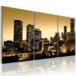 Obraz - Blask w oknach miasta (120x60 cm)