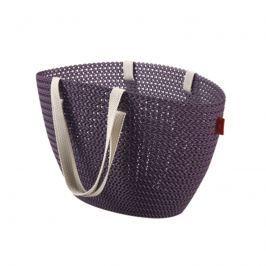 Koszyk na zakupy Emily Knit (fioletowy) Curver