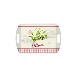 Taca prostokątna Nuova R2S Bistrot Olives oliwki