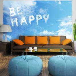 Fototapeta - Be happy (300x210 cm)
