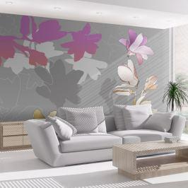 Fototapeta - Pastelowe magnolie (200x154 cm)