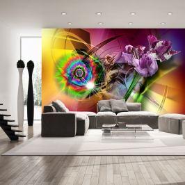 Fototapeta - Magiczne światło kolorów (300x210 cm)