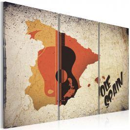 Obraz - ¡Olé! Spain - tryptyk (60x40 cm)