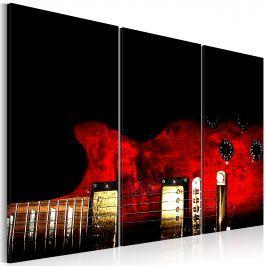 Obraz - Czerwona gitara (60x40 cm)