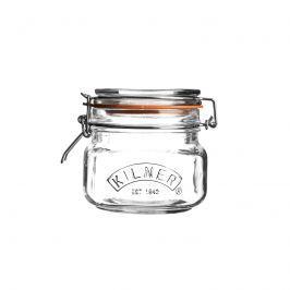 Słoik 0,5l Kilner Square Clip Top Jar przezroczysty