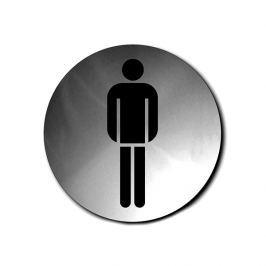 Szyld do WC męskiej okrągły Blomus Signo