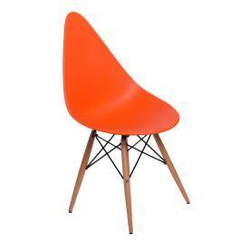 Krzesło D2 Rush DSW pomarańczowe