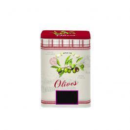 Pojemnik z pokrywką 11x7,5x16cm Nuova R2S Bistrot Olives