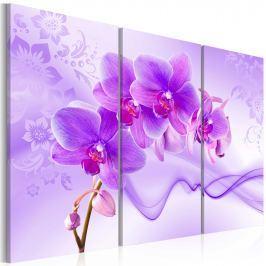 Obraz - Eteryczna orchidea - fiolet (60x40 cm)
