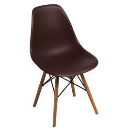 Krzesło P016W PP D2 brązowe