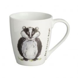 Kubek 350ml Price&Kensington Back to Front Badger Mug biały