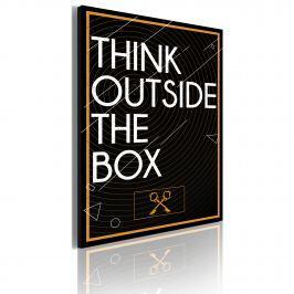 Obraz - Think outside the box (50x70 cm)