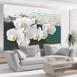 Fototapeta - Orchidea - inspiracja poety (200x154 cm)