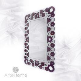 Alice - prostokątne lustro dekoracyjne w ramie lustrzanej
