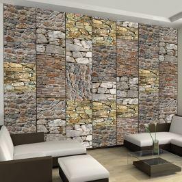 Fototapeta - Układanka z kamieni (50x1000 cm)
