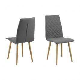 Krzesło Abna Actona jasnoszare