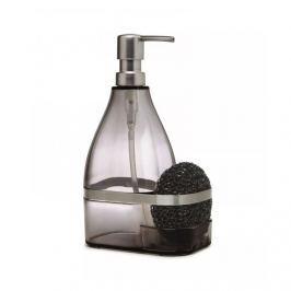 Dozownik do mydła lub płynu z gąbką Bando Umbra szary