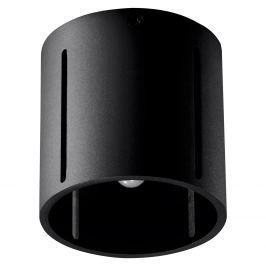 Plafon 10x10cm Sollux Lighting Inez czarny