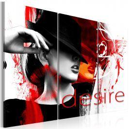 Obraz - Ogień pożądania (60x40 cm)