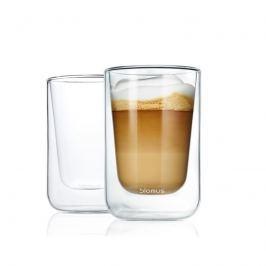 Szklanki do cappuccino 0,25L Blomus Nero