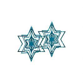 Ozdoba choinkowa Philippi niebieska 2 szt.
